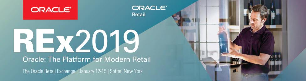 Oracle REx2019 - The Oracle Retail Exchange